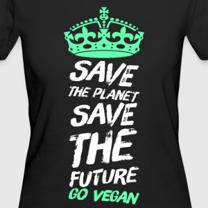 Vegan - Frauen Bio-T-Shirt