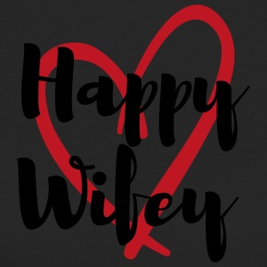 Happy Wifey - Frauen Bio-T-Shirt