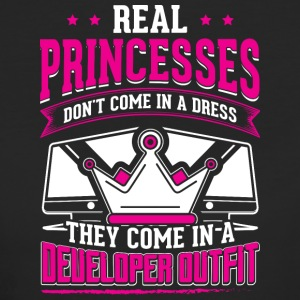 REAL PRINCESSES developer - Women's Organic T-shirt