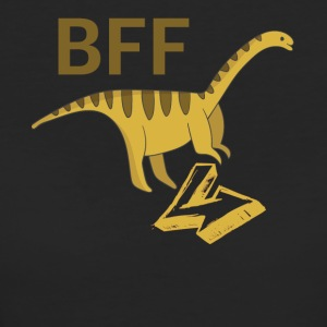 Barosaurus BFF best friends forever right - Women's Organic T-shirt