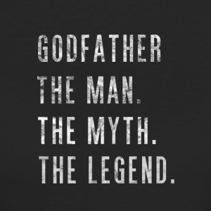 Godfather. The Man Then Myth The Legend Gift - Frauen Bio-T-Shirt
