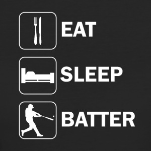 Eat sleep batter - Women's Organic T-shirt