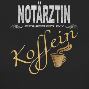 Notärztin powered by Koffein - Frauen Bio-T-Shirt