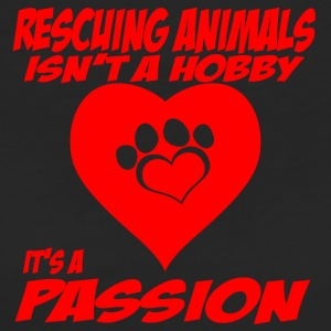 rescuing animals - Frauen Bio-T-Shirt