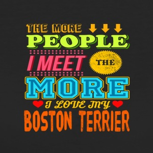 Boston Terrier - T-shirt Bio Femme
