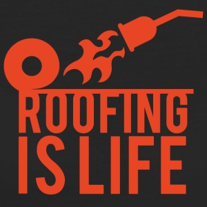 Roofing: Roofing Is Life. - Women's Organic T-shirt