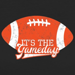 Super Bowl / fotboll: det är Gameday - Ekologisk T-shirt dam