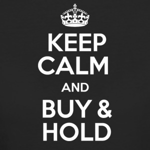 KEEP CALM AND BUY & HOLD - Women's Organic T-shirt