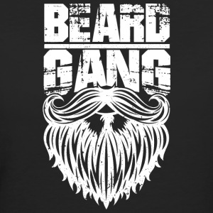 beard gang white - Women's Organic T-shirt