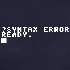 ?SYNTAX ERROR - Women's Organic T-shirt