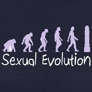 Sexual Evolution From Ape To Erect Man. - Women's Organic T-shirt