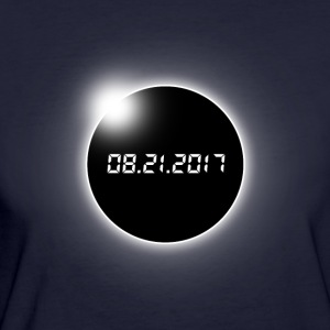 Total Solar Eclipse - Women's Organic T-shirt