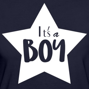 Its a boy! - Women's Organic T-shirt