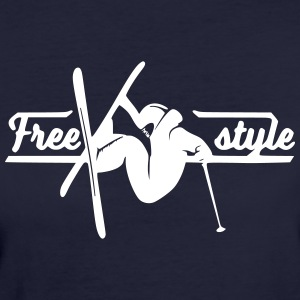 Freestyle Skiing - Ekologisk T-shirt dam