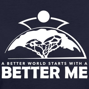 Better Me - White - Vrouwen Bio-T-shirt