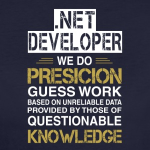 NET DEVELOPER Precision - T-shirt Bio Femme