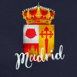 Spanje Madrid crest Vacations Tourist herinnering lo - Vrouwen Bio-T-shirt