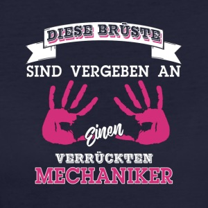Mechaniker Brüste Shirt für Damen - Frauen Bio-T-Shirt