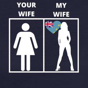 Tuvalu geschenk my wife your wife - Frauen Bio-T-Shirt