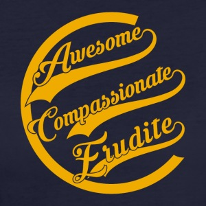 Awesome Compassionate Erudite - Women's Organic T-shirt