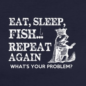 PESCA EAT sleap - T-shirt ecologica da donna