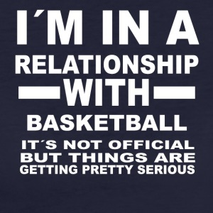 Relationship with BASKETBALL - Women's Organic T-shirt
