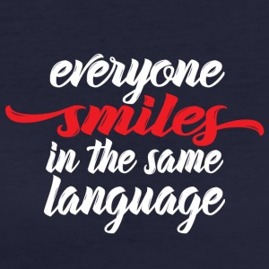 Everyone smiles - Women's Organic T-shirt