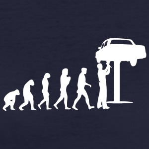 Mechanic Evolution - Women's Organic T-shirt