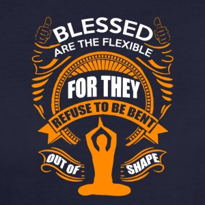 Blessed are the flexible - Women's Organic T-shirt