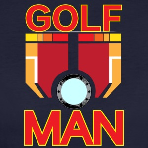 Golf man - Frauen Bio-T-Shirt