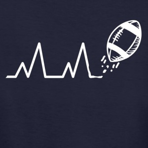 Heartbeat American Football - Vrouwen Bio-T-shirt