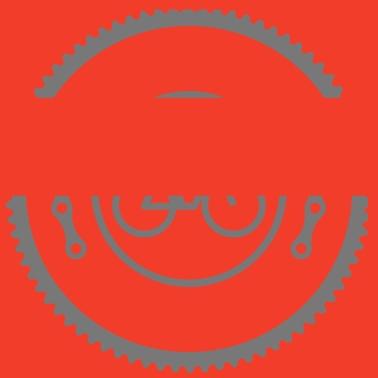 Logoen sykkel Retro veske | Spreadshirt