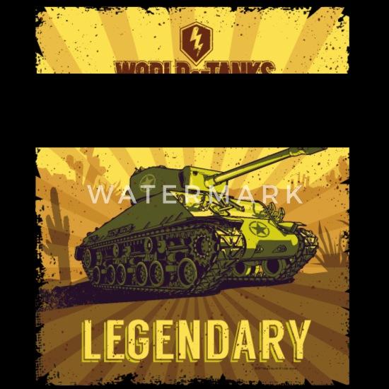World Of Tanks Blitz Legendary Camouflage Retro veske