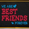 we are best friends forever ii 2c - Retro Bag
