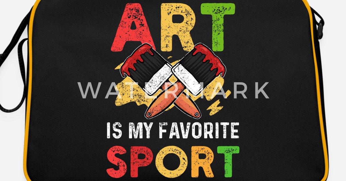 kunst Retro veske | Spreadshirt