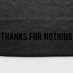 Thanks For Nothing - Winter Hat