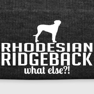 RHODESIAN RIDGEBACK what else - Winter Hat