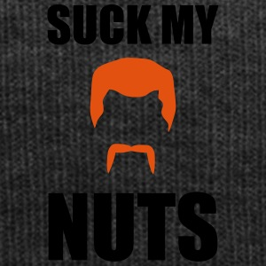 Suck my nuts - Wintermütze