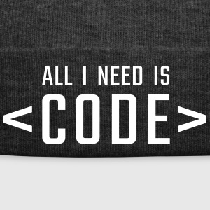 All I need is CODE - Winter Hat