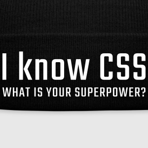 I know CSS - Winter Hat