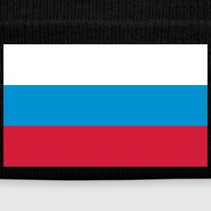 National Flag Of Russia - Vintermössa