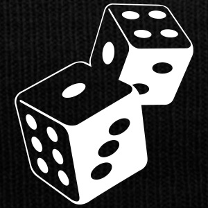 Two Dice At The Casino - Bonnet d'hiver
