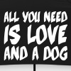All you need is love and a dog, Dogs, Pixellamb ™ - Regenschirm (klein)