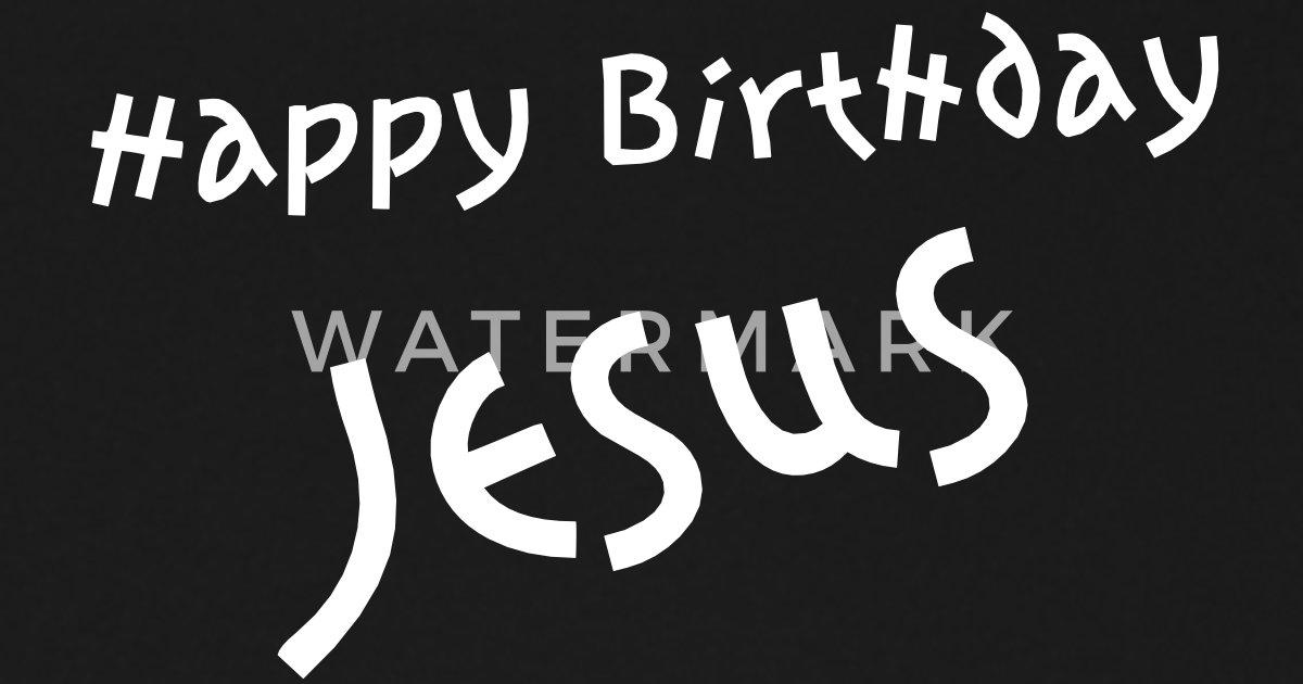 Happy Birthday Jesus Regenschirm