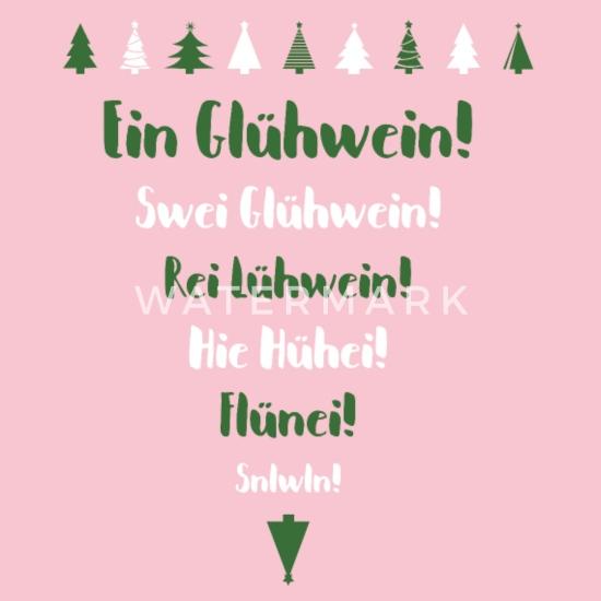 Lustiges Glühwein Weihnachtsmarkt Spruch Geschenk Baby Bio