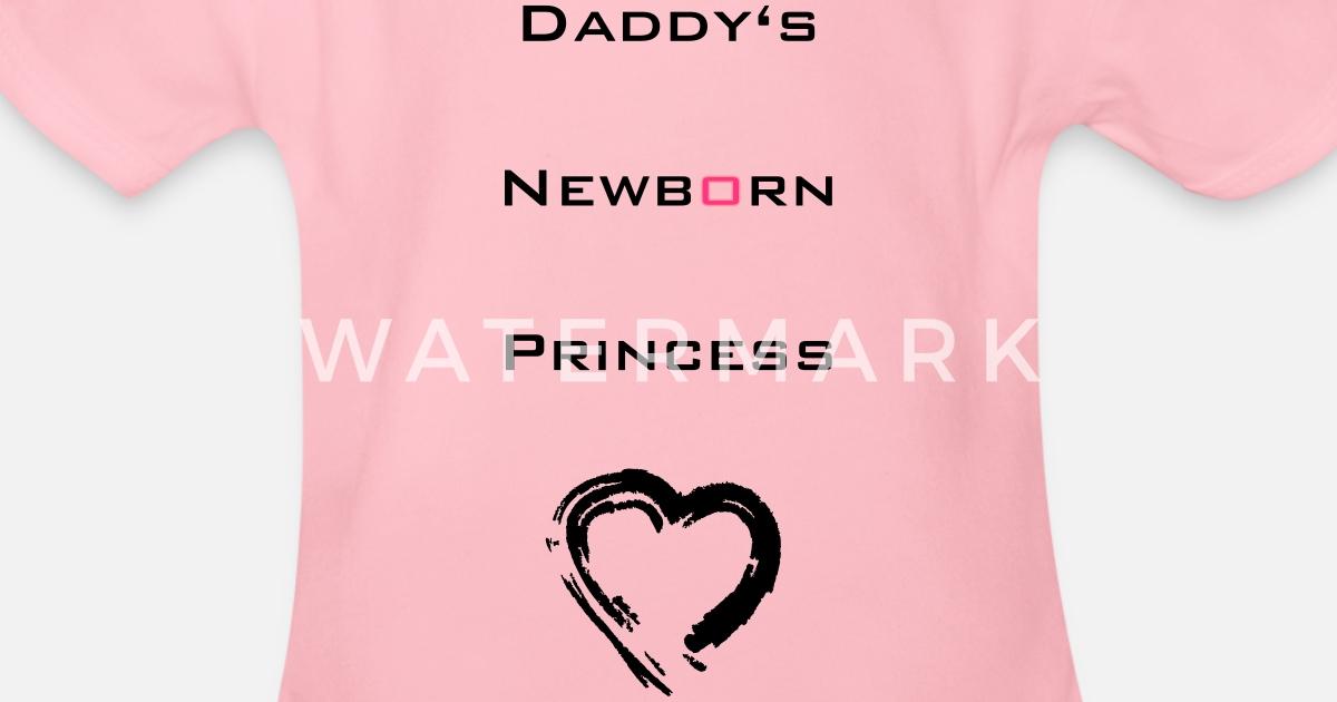 1e709a14722 Pappas Princess Newborn Økologisk kortermet babybody | Spreadshirt