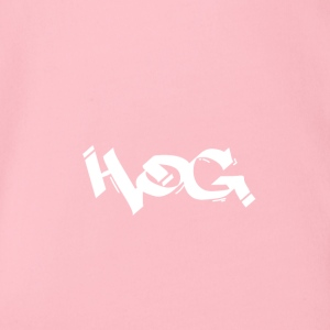 Hog - Organic Short-sleeved Baby Bodysuit