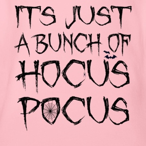 Its Just A Bunch Of Hocus Pocus Halloween Spider - Organic Short-sleeved Baby Bodysuit