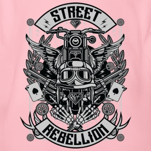 Street Rebellion2 - Organic Short-sleeved Baby Bodysuit