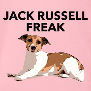 Jack Russel Freak - Organic Short-sleeved Baby Bodysuit